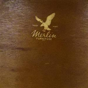 Merlin Imbuia Display Cabinet