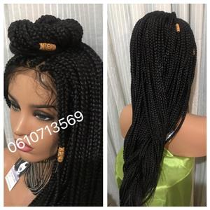 BRAIDED LACE FRONT WIGS AND MORE
