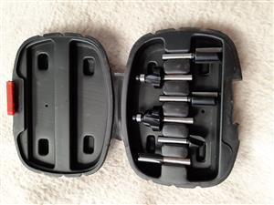 Bosch 6 Pce router bit set (6mm)