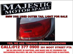 Bmw 335i used outer tail light for sale