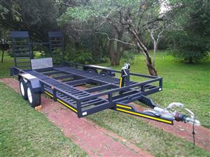 New 5m x 2m car trailer for sale.