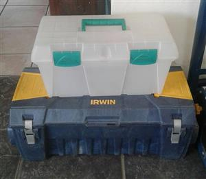 Irwin container and toolbox