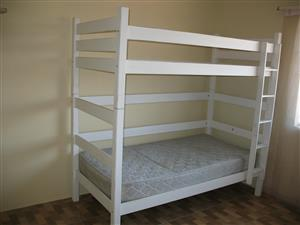 2 x Wardrobes and 1 x Bunk bed plus matress