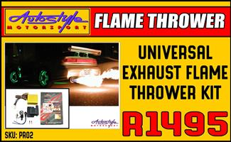 Exhaust Flame Thrower Kit DIY  Autostyle Motorsport now offers FITMENT while you wait.