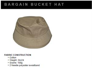 Bargain Bucket Hat