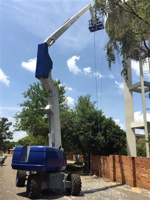 Cherry Picker VerticalZA JLG800AJ - 26m Boom Lift, ARTICULATING Manlift