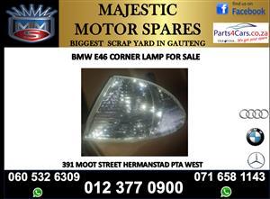 Bmw e46 corner lamps for sale