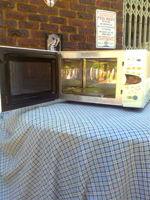 LG INTELLOWAVE MICROWAVE COMBINATION GRILL
