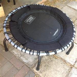 The Fitness  trampoline by jump sport  negotiable