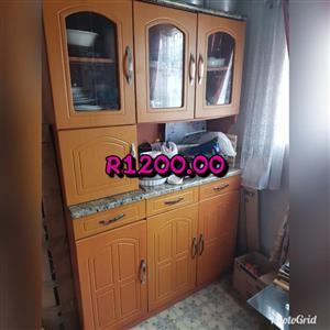 Wooden dining side cupboard