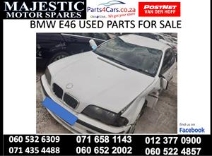 Bmw e46 stripping for parts