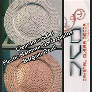 NEW Plastic Underplates for Sale.