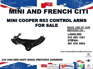 Mini cooper R53 control arms for sale !!