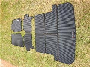 Rubber overlay mats for Cars, Bakkies, Van and SUV