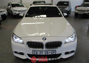 2014 BMW 5 Series sedan 520d M SPORT A/T (G30)