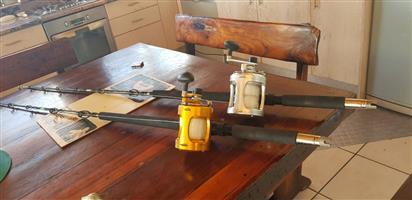 Deep Sea Rod and Reels