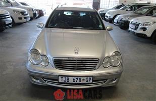 2006 Mercedes Benz C Class C200CGI estate Elegance Touchshift