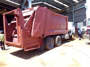 Immaculate Refuse Removal load body installation