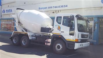Daewoo Mixer truck ready to go!