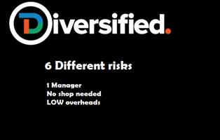3 in 1 opportunity. 6 risks, 1 manager, no shop needed. Ongoing concerns. LOW overheads