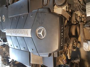 Mercedes E500 W211 V8 engine for sale.