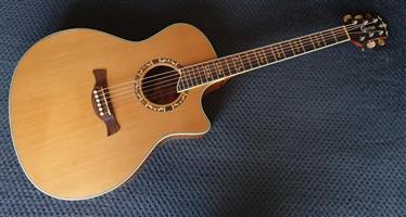 Crafter GAE18-N Acoustic Guitar - Higher End Acoustic