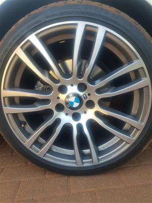 2 X Front F30 BMW 320i M Sport Rims (2017 Model)