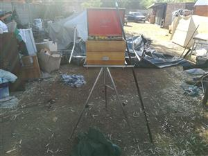 Stainless steel tripod and equipment  for sale