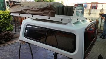 Nissan dubble cab 1996 canopy + roof rag