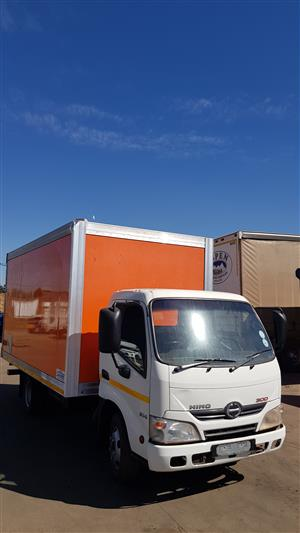 2015 Hino 300 Closed Body Truck