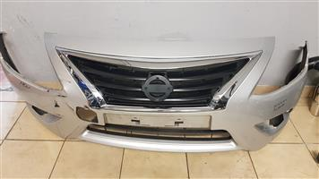 NISSAN ALMERA FRONT BUMPER FOR SALE