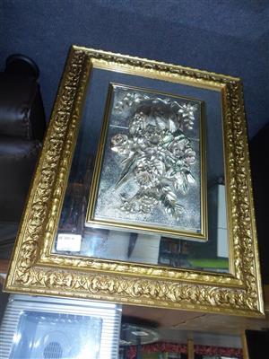 Flower Mirror Decor