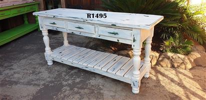 3 Drawer Farmstyle Server Table (1790x525x890)