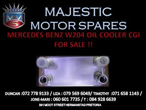 MERCEDES BENZ W204 OIL COOLER CGI FOR SALE !!