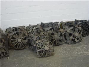Radiator fans for sale.