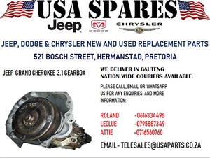 JEEP GRAND CHEROKEE 3.1 GEARBOX (FOR SALE)