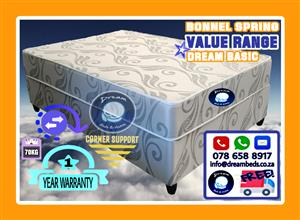 *Free Delivery* NEW Double Mattress and Bed Base Sets from R1850