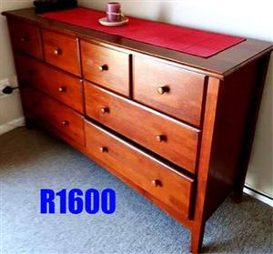 Wooden chest of drawers for sale