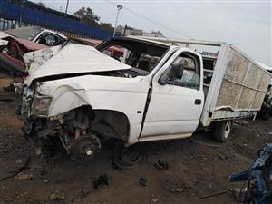Toyota Hilux stripping for used spares