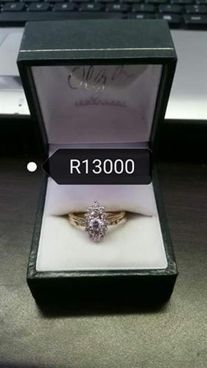 Gold Olga ring for sale