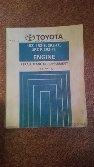 Toyota Hi-Lux 1997 - 2003: engine repair book