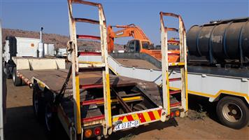 Stepdeck 12m trailer with Ramps,N/p