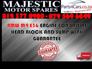 Bmw M4 E36 engine for sale used spares
