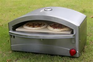 Stainless Steel Gas Pizza Oven - brand new - 12 month warranty - Perfect for indoor or outdoor use.