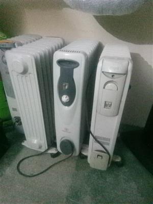 Oil fin heaters