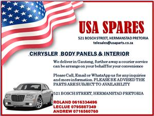 CHRYSLER BODY PANELS AND INTERIOR