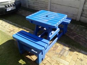 Used plastic benches