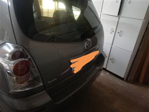 2009 Toyota Corolla Verso 160
