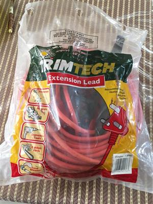 TRIMTECH 35 m x 1.5 mm Electrical Extension Cord - used once