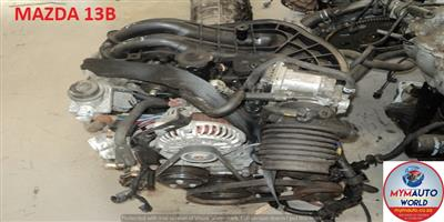 Used Second hand low mileage MAZDA RX8 1.3L 13B engines for sale